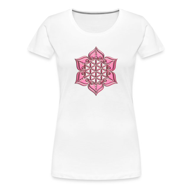 Signs And Symbols Flower Of Life Lotus Flower Heart Chakra Pink