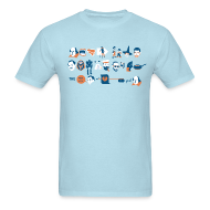 T-Shirts ~ Men's T-Shirt ~ A Monologue for Tee-Shirt (MEN'S)