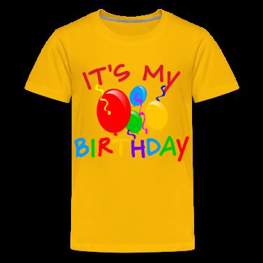 It's My Birthday Kids T-shirts