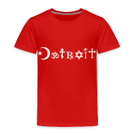 Baby & Toddler Shirts ~ Toddler Premium T-Shirt ~ Diverse Detroit