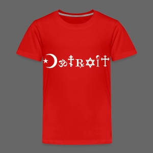Diverse Detroit - Toddler Premium T-Shirt