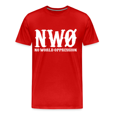 NWO: No World Oppression (White) - Men's