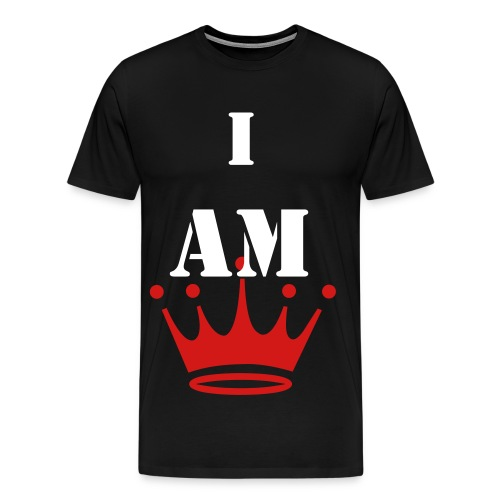 i am king - Men's Premium T-Shirt