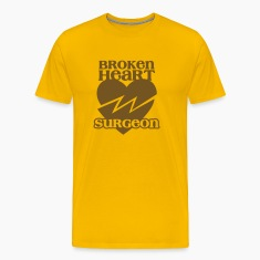 Broken heart surgeon funny design for anyone out of luck with Romance T-Shirts