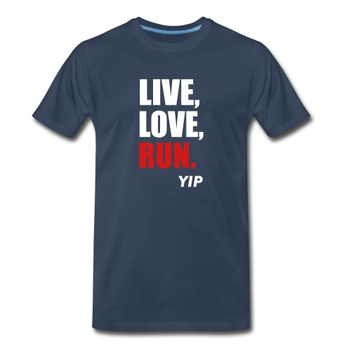 Live,Love,Run - Men's Premium T-Shirt