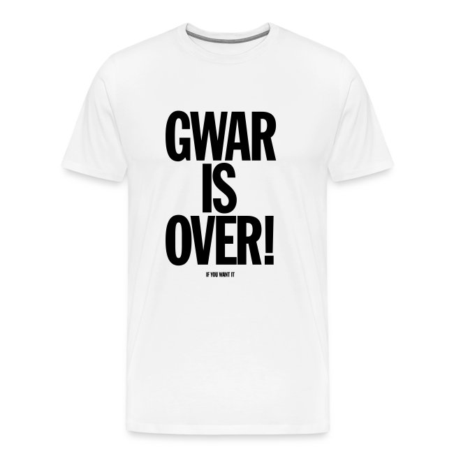 Gwar is Over! (If You Want It)