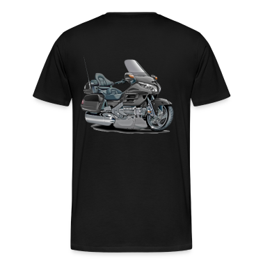 Goldwing Grey Bike T-Shirts