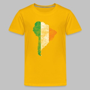 South American Irish Flag - Kids' Premium T-Shirt