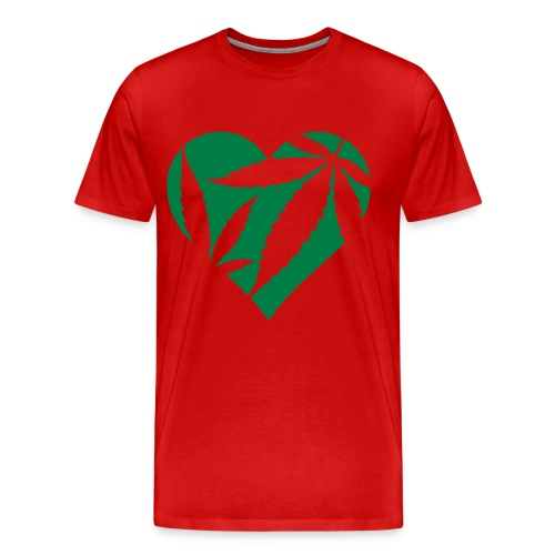 The Love of Weed - Men's Premium T-Shirt