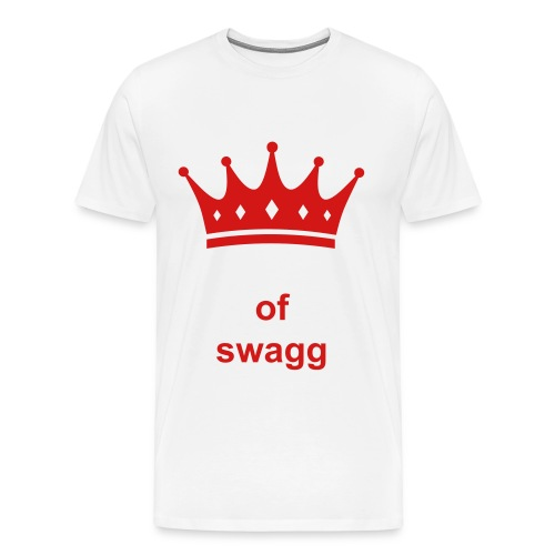 King of Swagg - Men's Premium T-Shirt