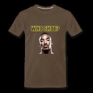 T-Shirts ~ Men's Premium T-Shirt ~ Who Shot JR?