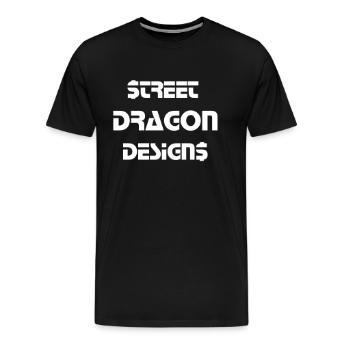 SDD-Chest Text - Men's Premium T-Shirt