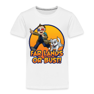 Baby & Toddler Shirts ~ Toddler Premium T-Shirt ~ FLoB Cartoon by Sixelona Toddler's Sizes
