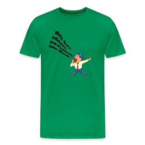 Wacky, Wavy, Inflatable, Arm-flailing Tube Men Heavyweight T-Shirt - Men's Premium T-Shirt