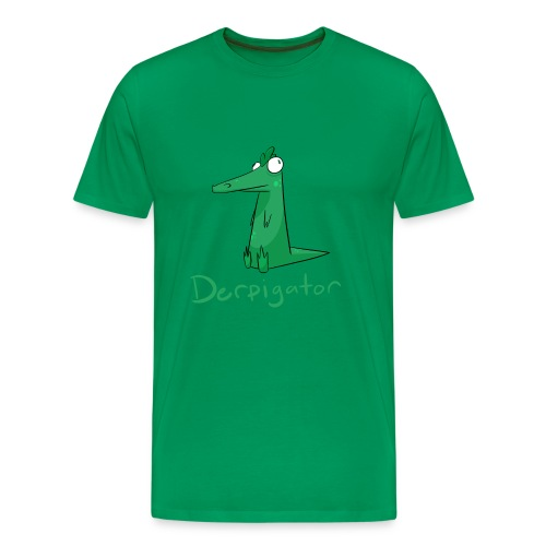 Derpigator for Guys - Men's Premium T-Shirt