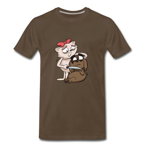 Getting along for Guys - Men's Premium T-Shirt