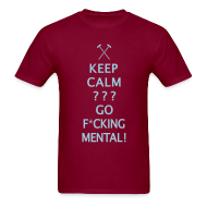 T-Shirts ~ Men's T-Shirt ~ Keep Calm - Hammers