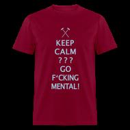 T-Shirts ~ Men's T-Shirt ~ Keep Calm - Hammers