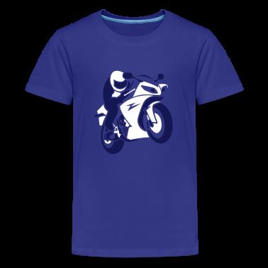 motorbike (b, 2c) Kids' Shirts