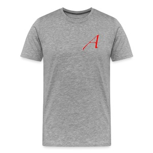 Scarlet Letter A Heavy-weight Tee - Men's Premium T-Shirt