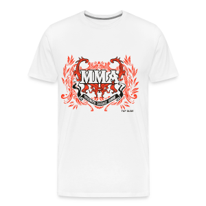MMA - Strength Courage Honor - BW - Men's Premium T-Shirt