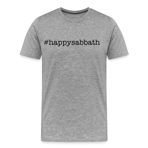 #HappySabbath - Men's Premium T-Shirt