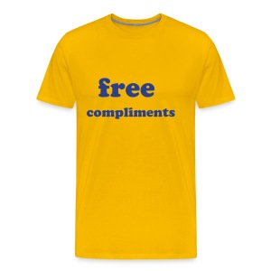 free compliments - Men's Premium T-Shirt