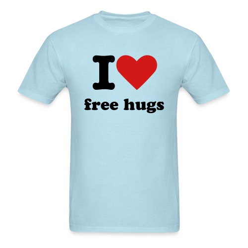 i love free hugs - Men's T-Shirt