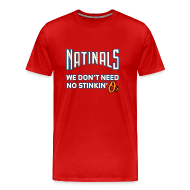 T-Shirts ~ Men's Premium T-Shirt ~ Natinals [Red M]