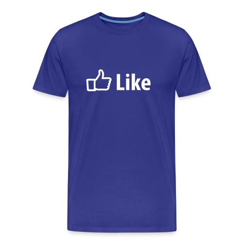 LIKE, BARCODE  - Men's Premium T-Shirt