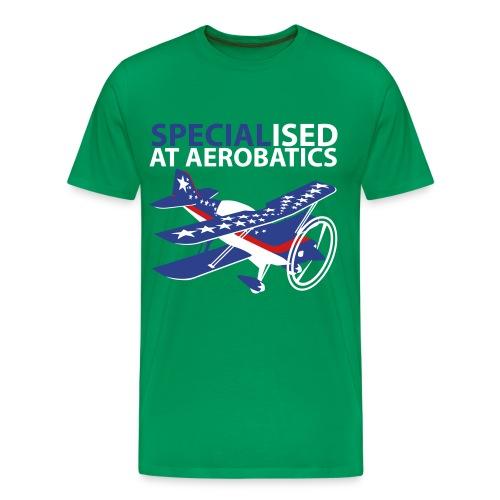 SPECIALised at aerobatics - Men's Premium T-Shirt