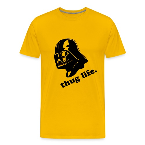 Caution the Vader - Men's Premium T-Shirt