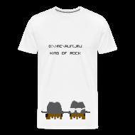 T-Shirts ~ Men's Premium T-Shirt ~ KING OF ROCK [pixelated]