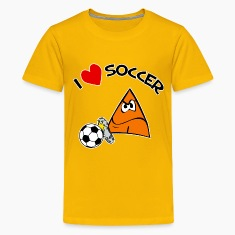 I Love Soccer. TM  kids tee