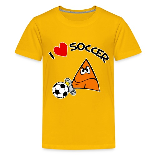 Kids I Love Soccer - Kids' Premium T-Shirt