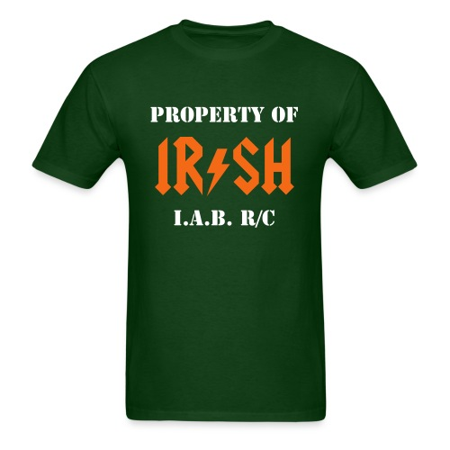 PROPERTY OF IAB - LB - Men's T-Shirt