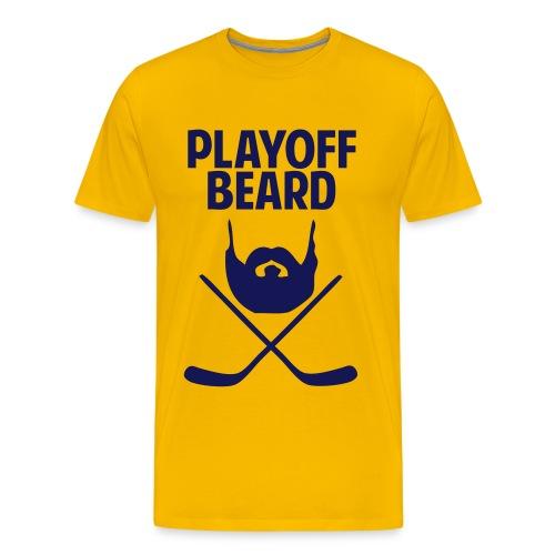 Hockey Playoff Beard Shirt - Men's Premium T-Shirt