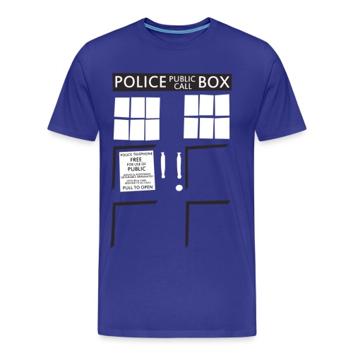 Blue Box - Men's Premium T-Shirt