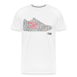 1 Sole OSD Words Tee (Black & Red Letters) Size 3XL & 4XL - Men's Premium T-Shirt