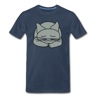 Sleeping Cat - Men's Premium T-Shirt