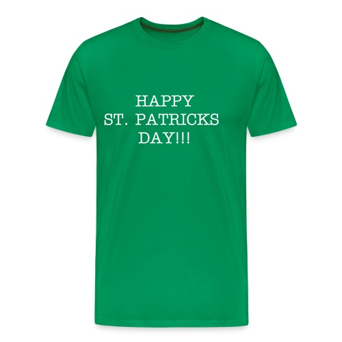 ST. PATRICKS DAY TEE FOR MEN - Men's Premium T-Shirt