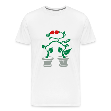 Two potted plants in love T-Shirts
