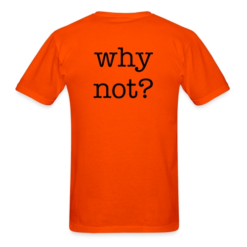 why? - Men's T-Shirt