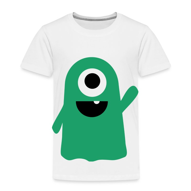 Slimy The Lil' Monster Tee - Toddler Premium T-Shirt
