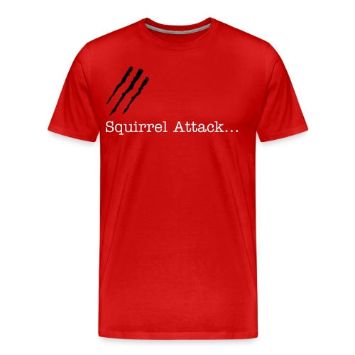 Squirrel Attack - Men's Premium T-Shirt