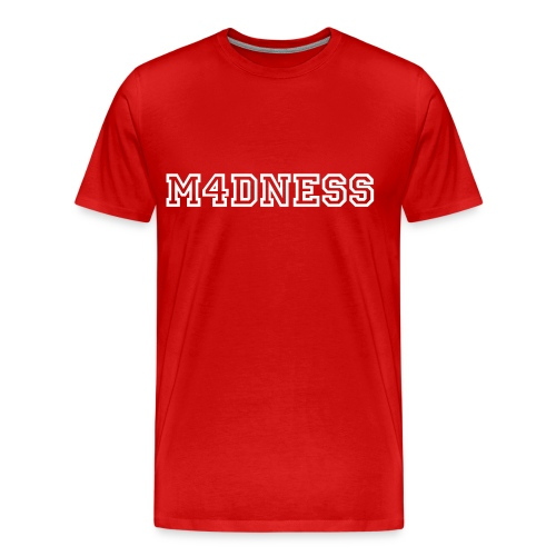 Mens M4dness Shirt - Men's Premium T-Shirt