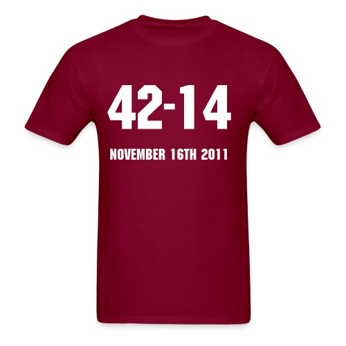 2011 Iron Bowl Shirt - Men's T-Shirt
