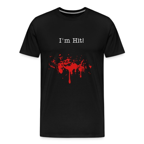I'm Hit - Men's Premium T-Shirt