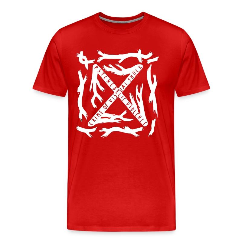 [M] White Blue Blood - Men's Premium T-Shirt