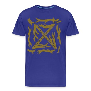 [M] Plus Gold Blue Blood - Men's Premium T-Shirt